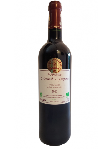 Corbieres Red 2016 ORGANIC