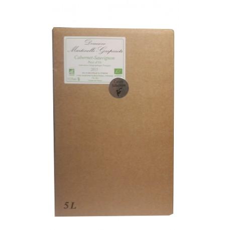 BIB 5L IGP Pays d'OC 100% Cabernet-Sauvignon Rosé